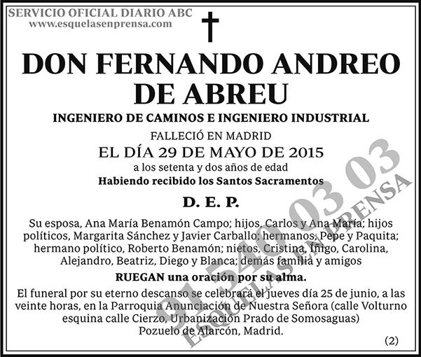 Fernando Andreo de Abreu